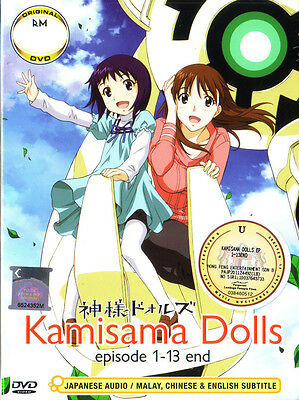 Kamisama Dolls DVD Complete 1-13 Collection - Anime New