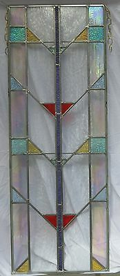 Antique Mission Style Stained Glass Window Circa 1920 #37