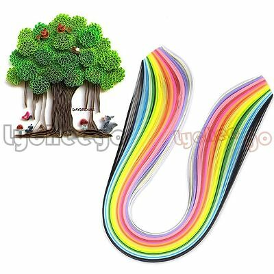 160 Stripes Quilling Paper 3 mm Width Multicolor For Origami Paper Craft DIY Toy