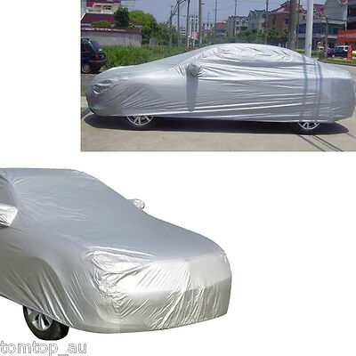 Full Car Cover Waterproof Outdoor Sun UV Snow Dust Rain Resistant Protection XL