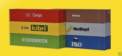 Kibri 10922 H0 40'-Container (6 containers) H0   1:87