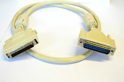 SCSI 1 to 25 pin Male CABLE 1 Metre Heavy Duty Cable TS122