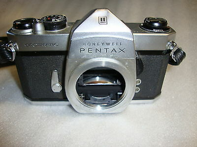 Honeywell Pentax Spotmatic 35mm SLR Camera Screw-Mount Body Only (for Parts)
