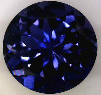 Natural Finest Deep Purple Blue Iolite - Round - Sri Lanka - Top Tanzanite Color