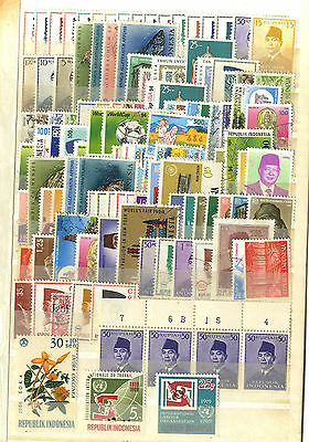 Lot 125 Timbres Anciens Indonesie Asie Asia