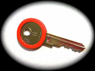 RED PAYPHONE MASTER KEY-PMG Pay phone, Victa,Coin Operated-FREE POSTAGE IN AUST.