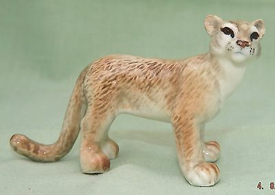 Klima Miniature Porcelain Animal Figure Cougar (Puma) Standing M165