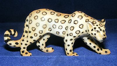 Klima Miniature Porcelain Animal Figure Leopard Facing Right M150