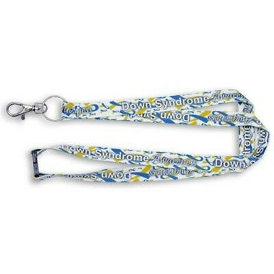 PinMart's Full Color Down Syndrome Awareness Lanyard w/ Safety Release