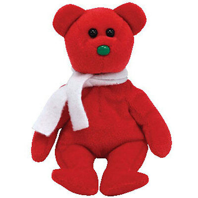 TY Jingle Beanie Baby - LIL' FROSTS the Bear (Walgreens Exclusive) - MWMT's