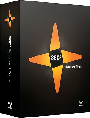 Waves 360 Surround Tools 5.1 Mixing Bundle 14 Plugins TDM AAX RTAS VST AU