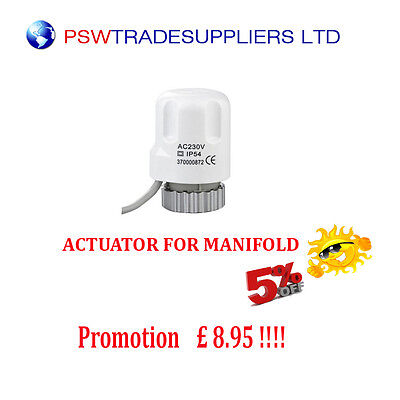 Actuator  - / 230V 2W/  For  Manifold