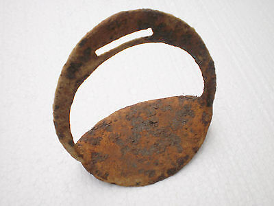 ANCIENT RARE Authentic Uncleared STIRRUP ca  12 - 13 century AD №2