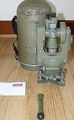 WILD HEERBRUGG THEODOLITE T1A  CALIBRATED SURVEYING