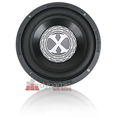 "PowerBass 2XL-1204D 12"" Dual 4 ohm 2XL Series Car Audio Subwoofer Sub New"