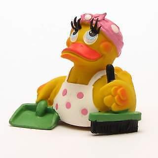 Charwoman Rubber Duck