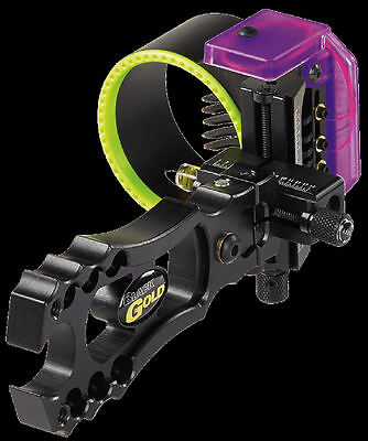 2015! Black Gold Montana Archery Sight-Revenge 5 Pin Sight!