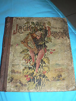 Antique Vintage Book Jack and the Beanstalk 1903 Childrens