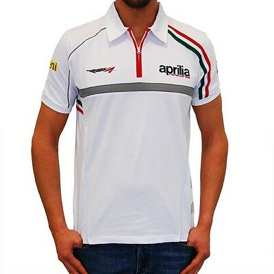 Aprilia Superbike Team Polo Small, New, X Display, Official Factory Merchandise