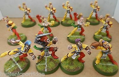 1994 Wood Elf Bloodbowl 3rd Edition Citadel Pro Painted Athelorn Avengers Team