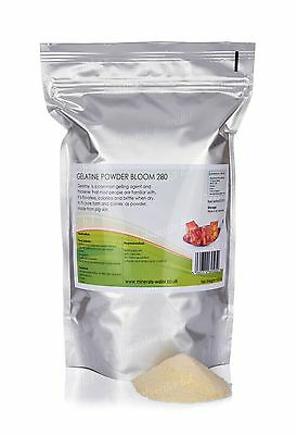 1kg Gelatine powder Bloom 280 Professional Strength food grade thickener