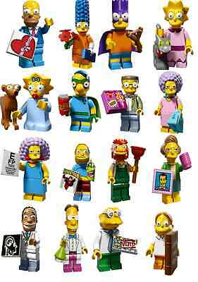 71009 Lego Minifiguren The Simpsons Serie 2 aussuchen aus allen 16 Figuren