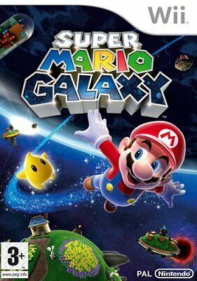 Wii - Super Mario Galaxy (Wii) - Game  VIVG The Cheap Fast Free Post