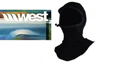 NEW West Surfing 4mm Neoprene Hood Cap Small cold water surf dive Msrp$40