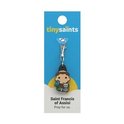 Tiny Saints - St. Francis of Assisi Charm GREAT STOCKING STUFFER
