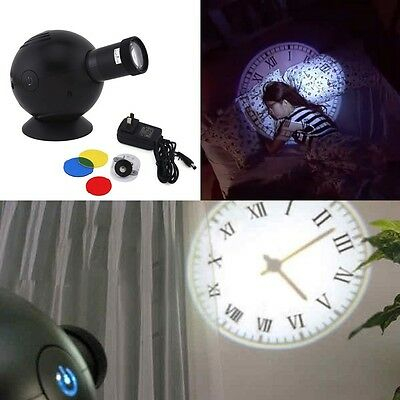 Analogue Diameter Large Standing Ovo Wall Clock Projection Clock on Wall LED