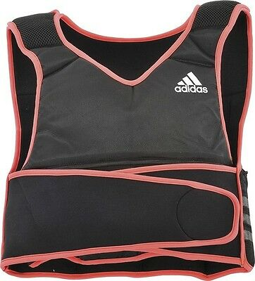 Adidas 10lb Adjustable Weighted Vest Weight Lifting Strength Training Jacket