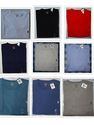 Polo Ralph Lauren BIG & And TALL Brand New With Tags CREWNECK Logo Tee T Shirts