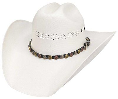 91b25eb131a New Bullhide Hats Rodeo Round-Up Collection McAllen 50X Natural Cowboy Hat