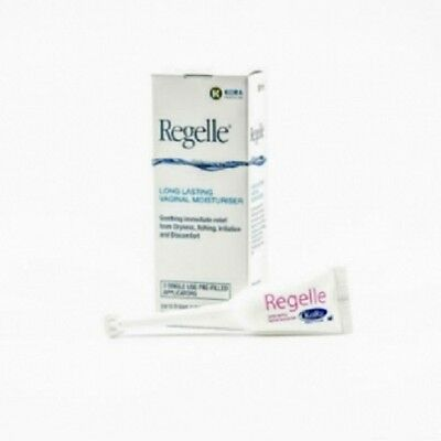 Regelle Long Lasting Vaginal Moisturiser 3 pack(dryness, itching, irritation)
