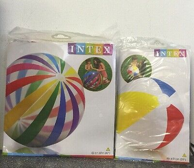 GLOSSY INFLATABLE BEACH BALL