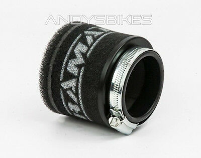 Universal Fit 40mm Motorcycle RamAir Race Pod Racing Performance Air Filter