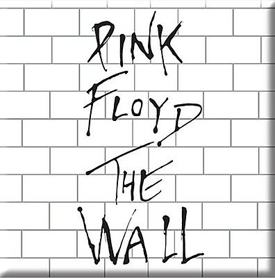 Pink Floyd The Wall steel fridge magnet   75mm x 75mm (ro)  REDUCED!