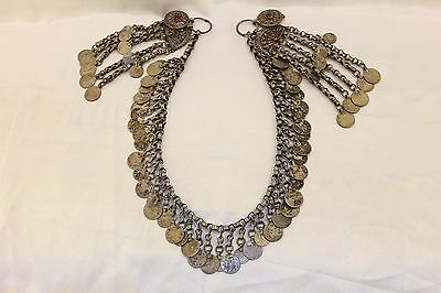 Antique Original Silver Ottoman Anatolian  For Lady Big Heavy Necklase