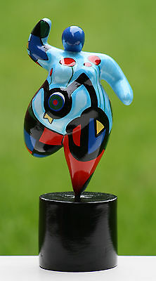 "Hommage an Niki de Saint Phalle - Skulptur Dicke Frau Dolly ""Nana"" large Pop-Art"