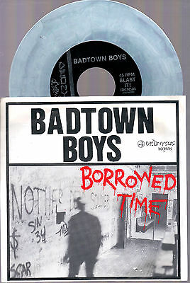 "Badtown Boys Borrowed Time + Better Forget Her+Bad News 1990 Dionysus 7"" 45 Giri"