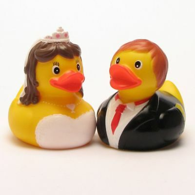 Rubber Duck Bride and Groom 1
