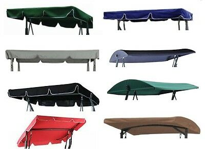 Replacement Canopy for Garden Swing - various sizes, styles & colours