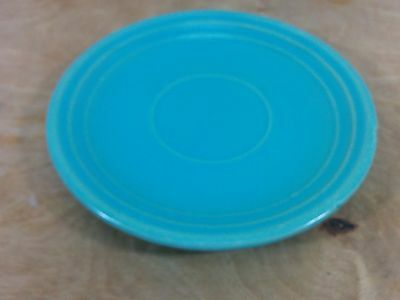 Vintage Meyers California Rainbow Saucer (no cup) Turquoise Color