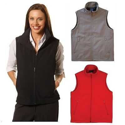 Ladies Softshell Business Casual Work Dress Black Navy Charcoal Top Vest Unifrom