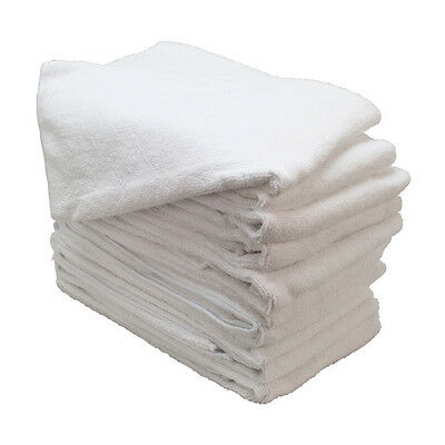 240 NEW WHITE MICROFIBER TOWEL NEW CLEANING CLOTHS BULK 12x12 MANUFACTURERS SALE
