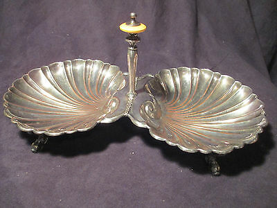 """Silver Divided Tray """"F9052"""""""