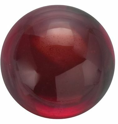 Natural Fine Deep Red Garnet - Round Cabochon - Mozambique - Top Grade