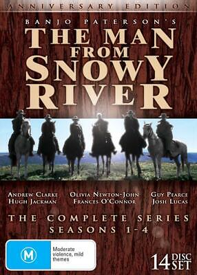 BRAND NEW The Man from Snowy River - Complete Collection Season 1 - 4 (DVD,1993)