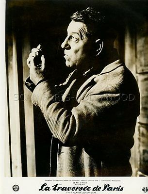 Jean Gabin La Traversee De Paris  1956 Vintage Photo Original #4