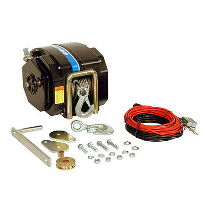 Powerwinch 712A Electric Trailer Winch - 12V - 7,500lbs
